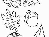Preschool Fall Leaves Coloring Pages Fall themed Coloring Pages New Fall Leaf Coloring Page Leaf Color