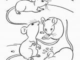 Preschool Farm Animal Coloring Pages Farm Animal Coloring Page Mice Eating Cheese