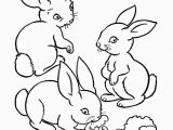 Preschool Farm Animal Coloring Pages Farm Animal Coloring Page Rabbits Eating Carrots