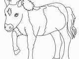 Preschool Farm Animal Coloring Pages You Can Print Out for Free This Pony Coloring Page Cute and