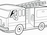 Preschool Fire Truck Coloring Page Fire Trucks Coloring Pages Firefighter Page Image Free Truck to