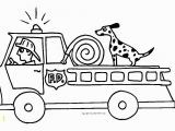 Preschool Fire Truck Coloring Page Free Fire Truck Coloring Pages Print Kid Stuff Pinterest