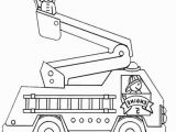 Preschool Fire Truck Coloring Page Free Fire Truck Coloring Pages Printable Coloring Chrsistmas