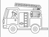 Preschool Fire Truck Coloring Page Free Printable Fire Truck Coloring Pages for Kids