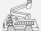 Preschool Fire Truck Coloring Page Luxury Fire Truck Coloring Pages for Preschoolers Collection
