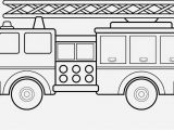 Preschool Fire Truck Coloring Page Preschool Fire Truck Coloring Page
