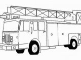 Preschool Fire Truck Coloring Page Printable Trucks to Color