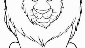 Preschool Lion Coloring Page Lion Coloring Pages Cute