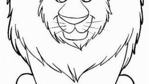 Preschool Lion Coloring Page Lion Coloring Pages Cute