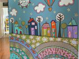Preschool Murals for Walls More Fence Mural Ideas Back Yard