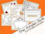Preschool Pumpkin Coloring Pages Pumpkin Activity Pack