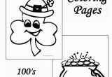 Preschool St Patrick S Day Coloring Pages St Patrick S Day Preschool Coloring Pages