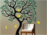 Preschool Wall Murals Kids Room Ideas with Tree and Birds Wall Mural Dog Room