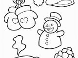 Preschool Winter Coloring Pages Wonderful Winter Coloring Page