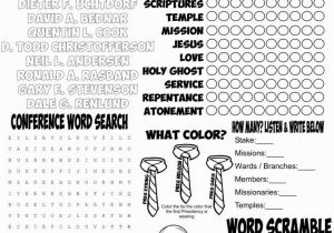 President Russell M Nelson Coloring Page April 2018 General Conference to Do Page Church