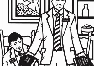 President Russell M Nelson Coloring Page Testimony