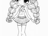 Pretty Anime Girl Coloring Pages Pretty Girls Coloring Pages 16 Beautiful Anime Girl Gallery