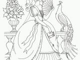 Pretty Princess Coloring Pages Kids Under 7 Princess Colouring Pages Part 1