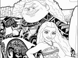 Pretty Princess Coloring Pages This Beautiful Moana and Maui Coloring Page From Moana Coloring