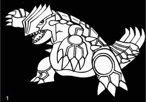 Primal Groudon Coloring Page Best Pokemon Primal Groudon Coloring Pages