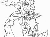 Princess Ariel Coloring Pages to Print Ariel Printable Coloring Pages that are Decisive