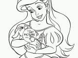 Princess Ariel Coloring Pages to Print Disney Princess Ariel Coloring Pages for Girls