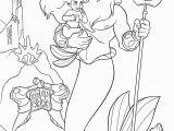 Princess Ariel Coloring Pages to Print Disney Princess Ariel Costume Coloring Page
