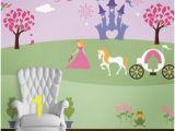 Princess Bedroom Wall Mural Stencil Kit 312 Best Girls Murals Images