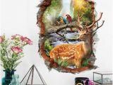 Princess Canopy Wall Mural ✤od✤new Detachable 3d View Wall Sticker Kids Home Room Mural Wallpaper