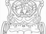 Princess Carriage Coloring Page Cinderella S Wedding Cart Coloring Page