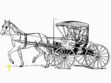 Princess Carriage Coloring Page Coloring Page Horse with Carriage