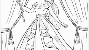 Princess Elena Of Avalor Coloring Pages Princess Elena Avalor Coloring Pages