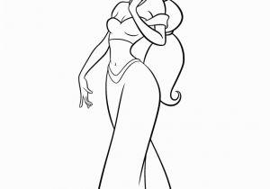Princess Jasmine Coloring Pages to Print Beautiful Princess Drawing at Getdrawings