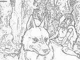 Princess Mononoke Coloring Pages Advice Princess Mononoke Coloring Pages Princesse Page for Girls New