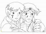 Princess Mononoke Coloring Pages Princess Mononoke Coloring Pages 1400
