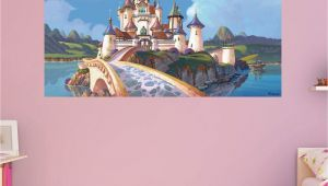 Princess sofia Wall Mural Fathead sofia the First Castle Wall Mural In 2019