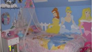 Princess themed Wall Murals Disney Princess Wall Mural Custom Design Hand Paint Girls