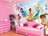 Princess Wall Mural Uk Disney Fairies Wall Murals for Girls