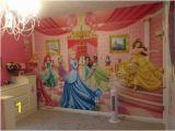 Princess Wall Mural Wallpaper Disney Princess Room Wall Mural Of Eight Disney Princesses