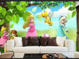 Princess Wall Murals Uk Customized 3d Wallpaper Murals Hd Cartoon Princess Girls Bedroom Children S Room Nursery Kid S Room Decor Eco Friendly Wal Retro Wallpaper