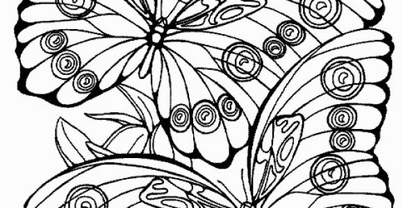 Print butterfly Coloring Pages Fantasy Pages for Adult Coloring