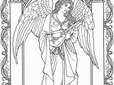 Printable Angel Coloring Pages for Adults Angel Adult Coloring Pages at Getdrawings