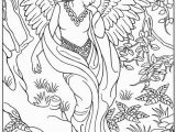 Printable Angel Coloring Pages for Adults Get This Angel Fantasy Coloring Pages for Adults Vb67nm