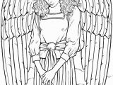 Printable Angel Coloring Pages for Adults Pin by Claudia Bullerkotte On Zeichnen Pinterest
