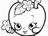 Printable Apple Pie Coloring Pages Fruit Apple Blossom Shopkins Season 1 Coloring Pages Printable