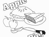 Printable Apple Pie Coloring Pages Pin by Navigating Homeschool Learning Through Play In