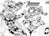 Printable Avengers Coloring Pages Marvel Superheroes Avengers In Action Coloring Page for Kids