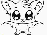 Printable Bat Coloring Pages Image Detail for Coloring Pages Of Cute Baby Animals