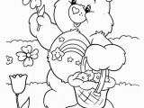 Printable Bear Coloring Pages Care Bears Coloring 079