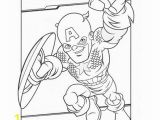 Printable Captain America Coloring Pages Captain America Free Super Hero Squad Coloring Page to